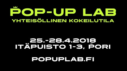 Pop-Up Lab mainos
