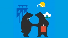 Handshaking bears