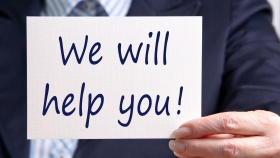 We will help you